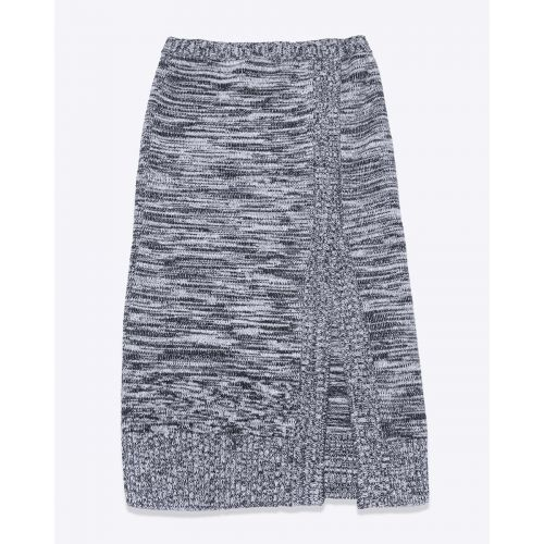 Achat Wool and merinos pencil skirt with split - Jacques-loup