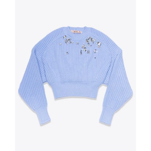Achat Virgin wool pullover with stones LS - Jacques-loup