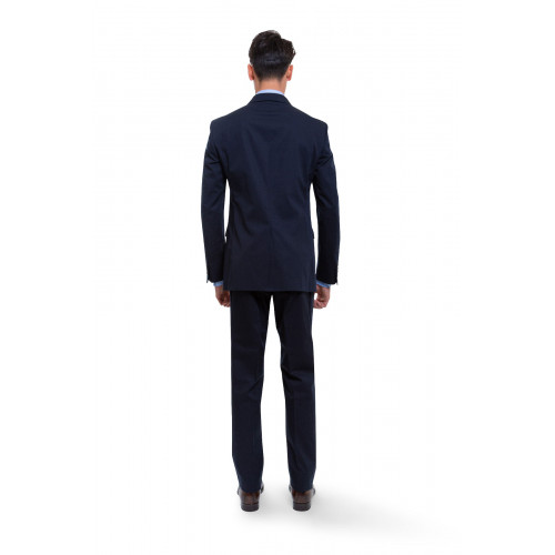 Achat Suit Lanvin navy blue for men - Jacques-loup