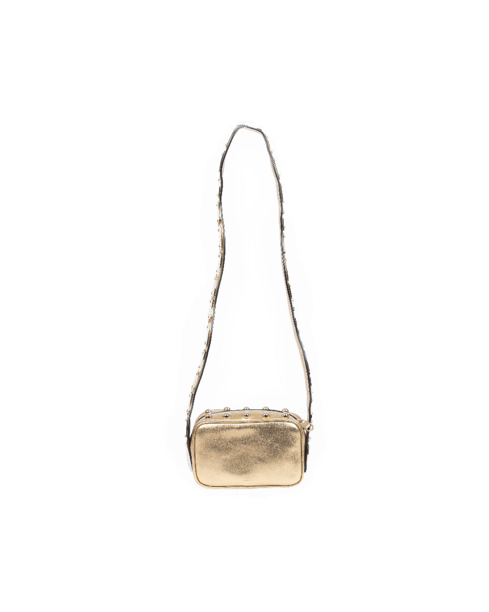 acheter populaire 4453e dacb5 Purse Red Valentino gold with shoulder strap like serpent for women