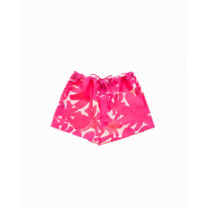 Small shorts with flower...