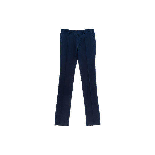 Trousers Lanvin navy blue...