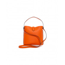 sac hobo iconic hogan orange pour femme