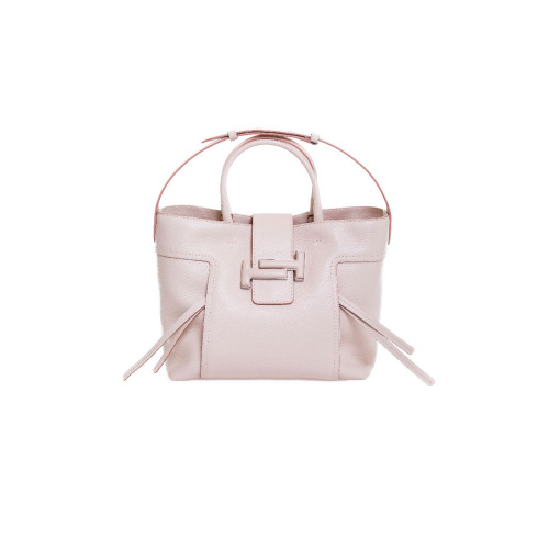 Achat Sac Tod's Doppia-T Shopping nude pour femme - Jacques-loup