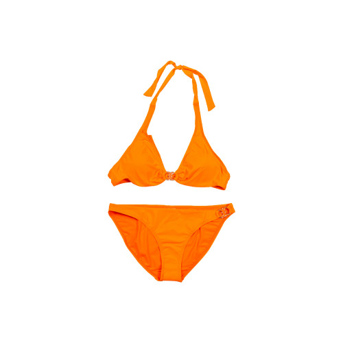 Orange two-piece swimsuit Tory Burch for women