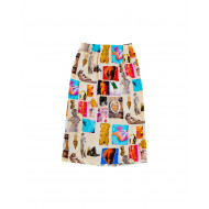 Achat White skirt with colorful prints Venus Marni for women - Jacques-loup
