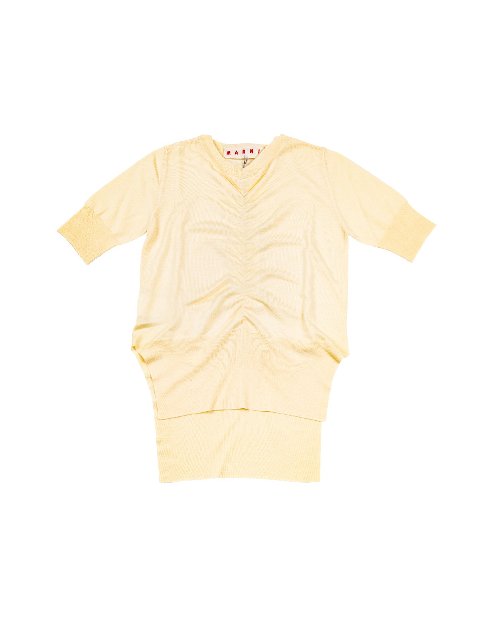 Light yellow T-shirt Marni for women