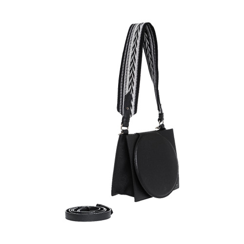 Rigid black bag Elena...