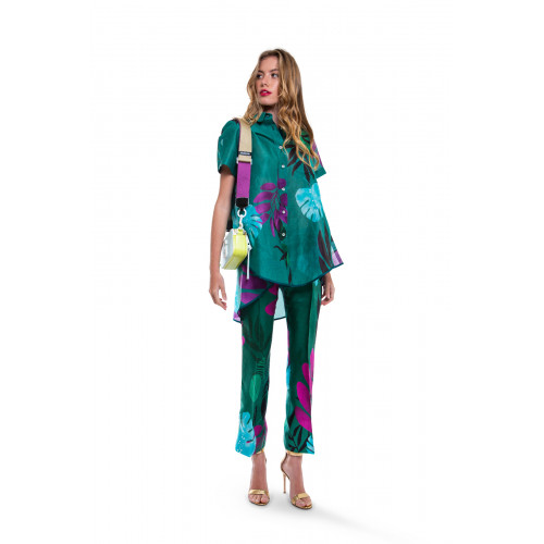Achat Green shirt and trousers Stella Jean for women - Jacques-loup
