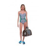 Multicolored one-piece swimsuit Tory Burch for women