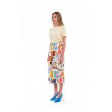 Citrine colored T-shirt Marni for women