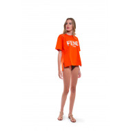 Achat T-shirt Fendi orange Fendi Roma - Jacques-loup