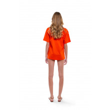 "T-shirt Fendi orange ""Fendi Roma"""