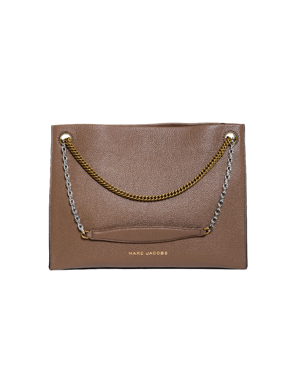 """Brown bag """"Double Link 34"""" Marc Jacobs for women"""