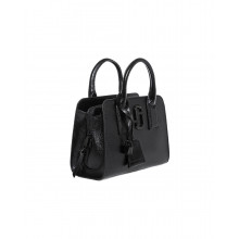 "Black bag with 2 handles ""Little Big Shot DTM"" Marc Jacobs for women"