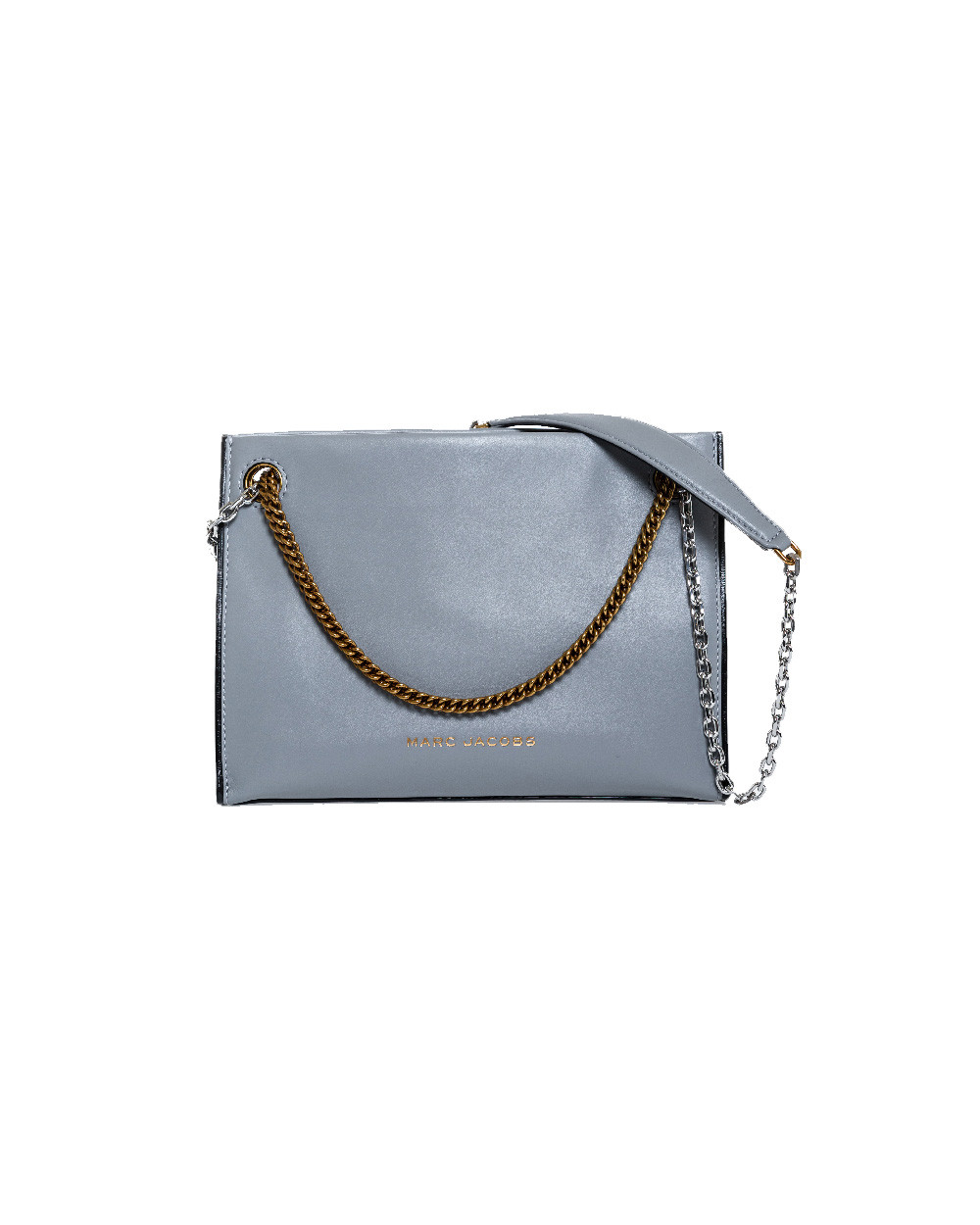 "Grey bag ""Double link 27"" Marc Jacobs for women"