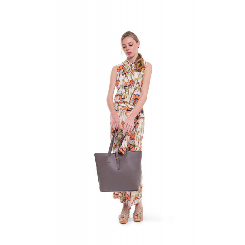 Sleeveless blouse with...