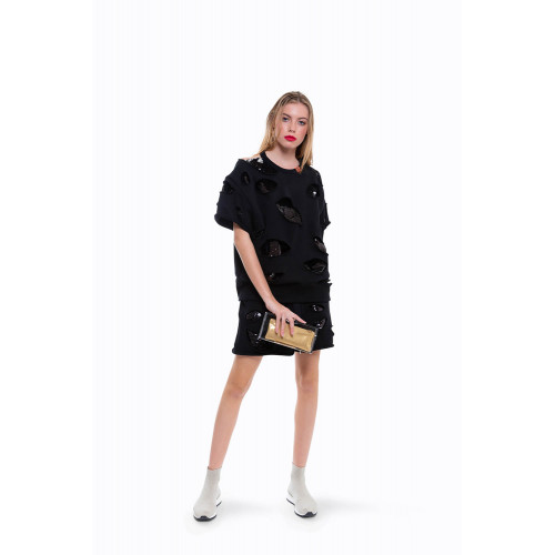 Achat Box Charlotte Olympia Perspex transparent/black with golden bag for women - Jacques-loup