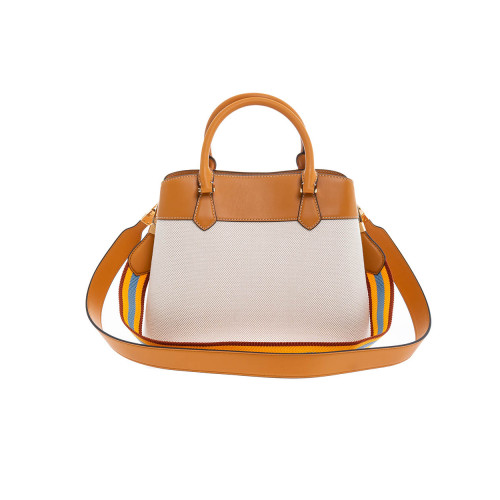 "Sac Tory Burch ""Robinson Canvas"" camel"
