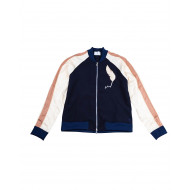 Navy blue and beige jacket...
