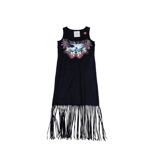 Achat Black tank dress with multicolor print Mihara Yasuhiro for women - Jacques-loup