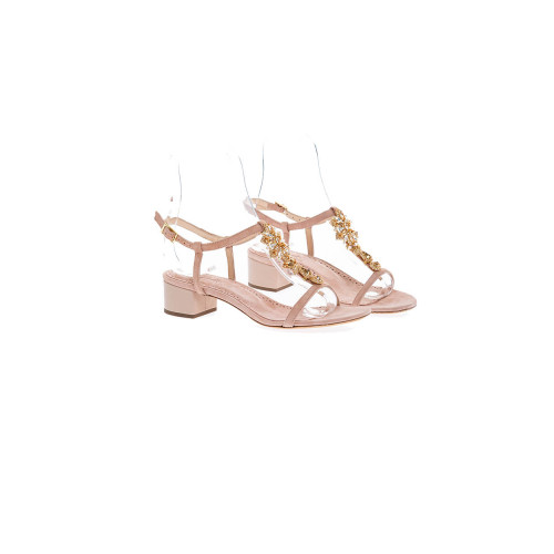 Achat Pink powder sandals with... - Jacques-loup