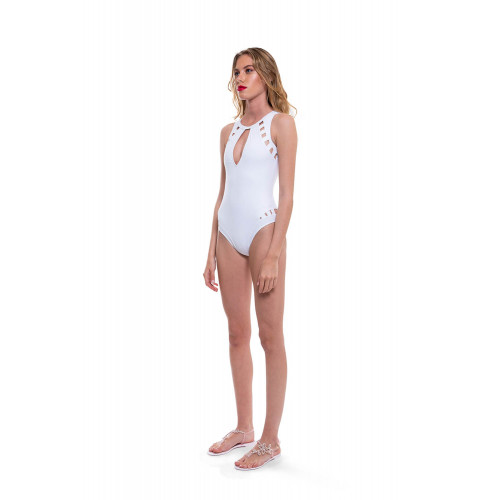 White swimsuit Moeva for women