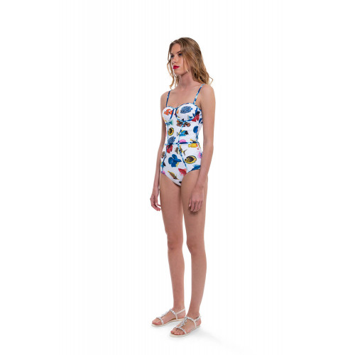 Achat One piece swimsuit with... - Jacques-loup