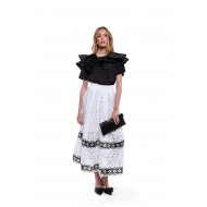 Achat Long skirt with decorative... - Jacques-loup