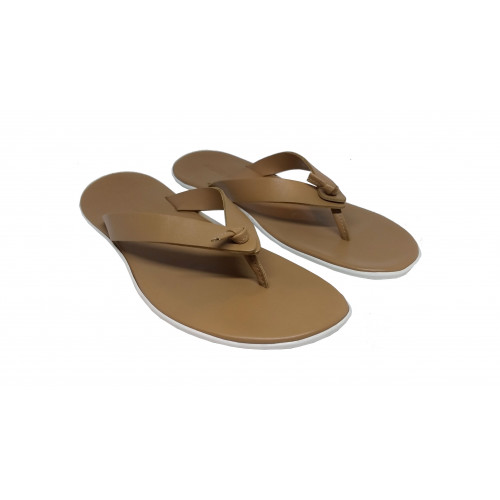 Achat Dark beige flip flops Jacques Loup for men - Jacques-loup