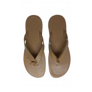 Dark beige flip flops Jacques Loup for men