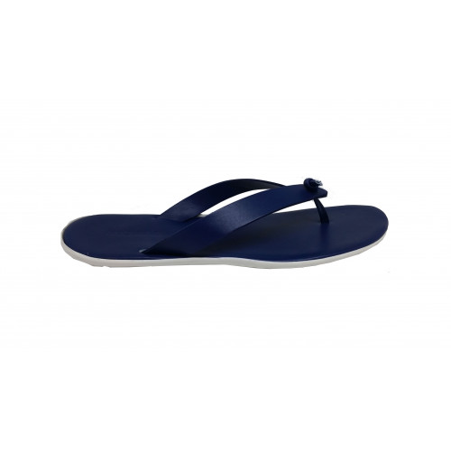 Achat Royal blue flip flops Jacques Loup for men - Jacques-loup