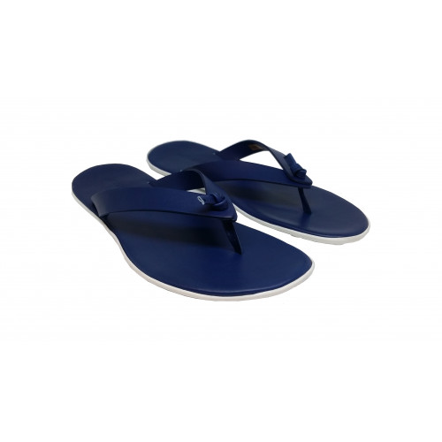 Royal blue flip flops Jacques Loup for men
