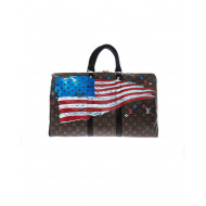 "Sac Philip Karto ""US FLAG + Don't tread on me"" 50 cm"