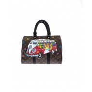 Bag Philip Karto - Minibus/Freedom - 35 cm - Customized Louis Vuitton bag for women
