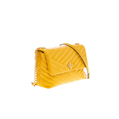 Achat Sac Tory Burch Kira jaune et or - Jacques-loup