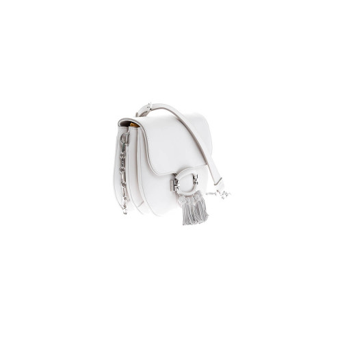 Achat Sac Tod's T-Ring pompons blanc pour femme - Jacques-loup