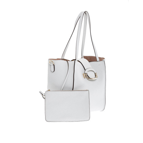 Achat Sac Tod's T-ring Shopping blanc pour femme - Jacques-loup