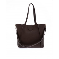 "Sac Tod's ""T-Ring Shopping"" marron pour femme"