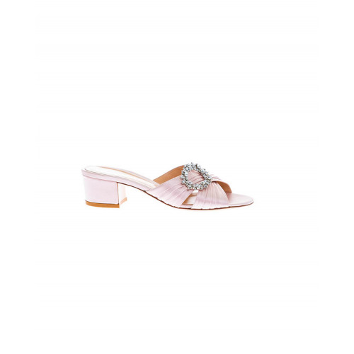Achat Light pink mules with decorative buckle Gianvito Rossi for women - Jacques-loup