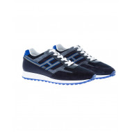 "Navy blue sneakers ""Running Hogan for men"