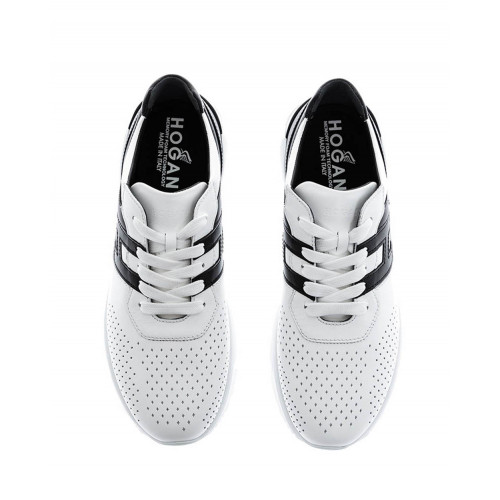 "Black and white sneakers ""Hyper-Active"" Hogan for men"