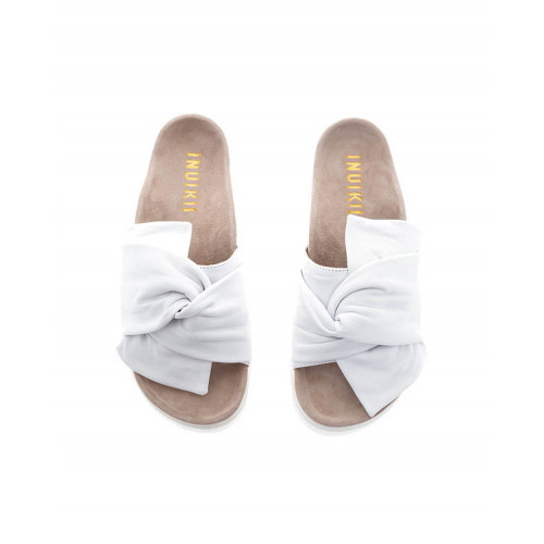 Achat Flat mules with draped knot - Jacques-loup