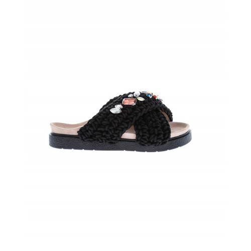 Achat Black mules decorated with stones Inuikii for women - Jacques-loup