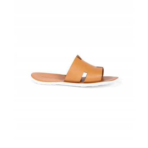 Achat Dark gold mules with H strap Jacques Loup for men - Jacques-loup