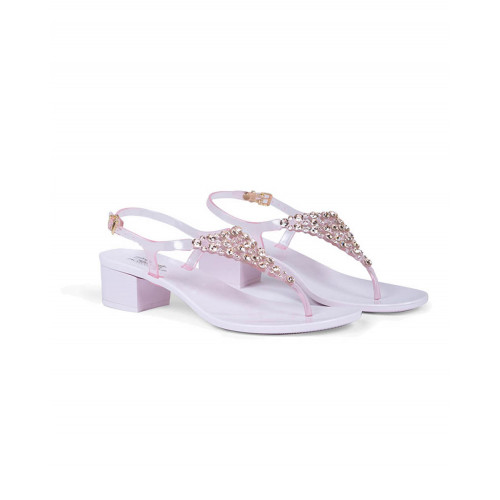 Achat Pink thong sandals with Swarovsky stones Jacques Loup for women - Jacques-loup
