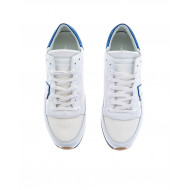 Achat White and blue sneakers Tropez Philippe Model for men - Jacques-loup