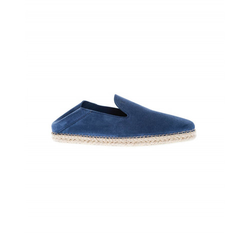 Blue slip-on shoes Tod's for men