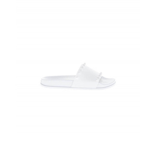 Achat White beach mules with decorative nails Jacques Loup for women - Jacques-loup