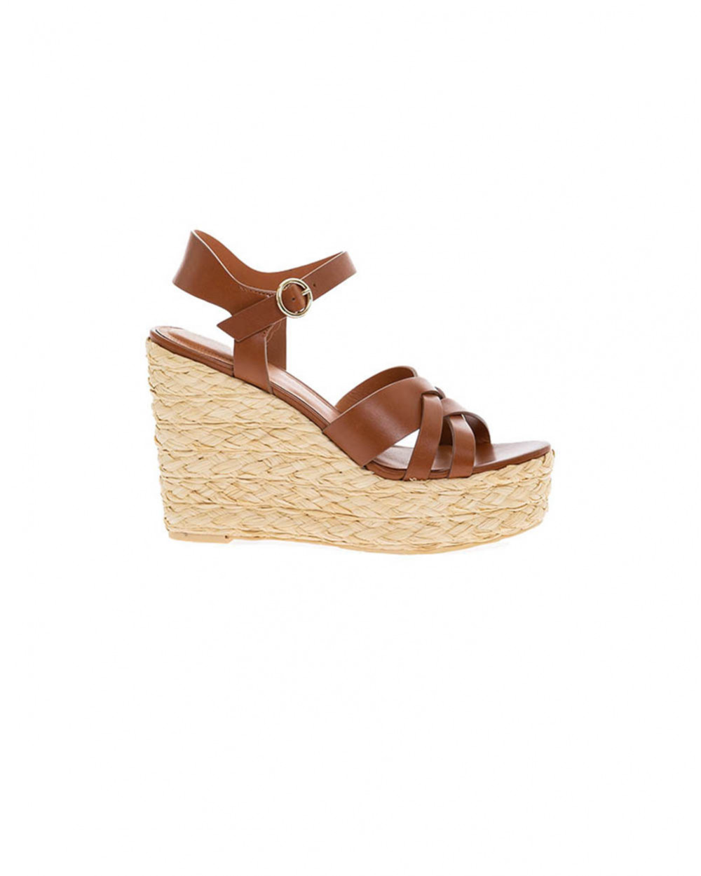 Brown platform sandals What For for women